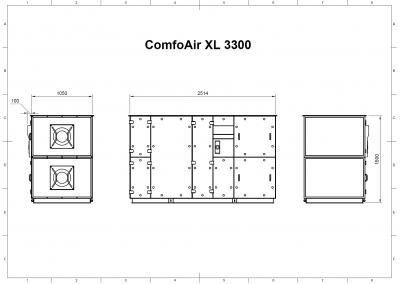 ComfoAir XL 3300