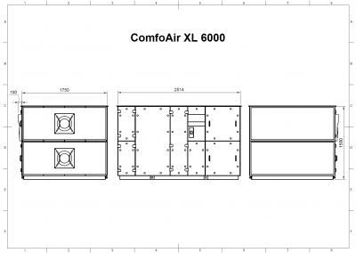 ComfoAir XL 6000 Drawing